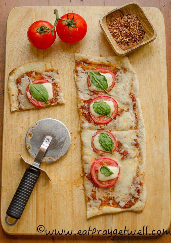 gluten free margarita pizza-3