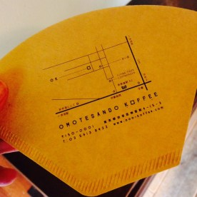 Directions to Omotesando Koffee