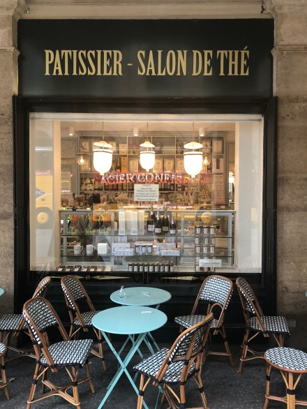 Like all Parisian institutions, rows of charming outdoor seating
