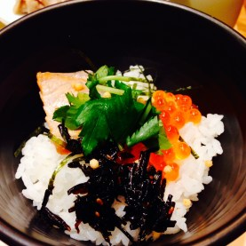 Grilled Salmon and Salmon Roe Ochazuke in Roppongi Hills
