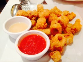 Deep fried calamari, authentically Italian!