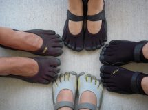 Vibram Five Finger Toe Shoes