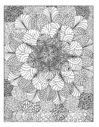 Colouring for Adults - Anti Stress Colouring Printables