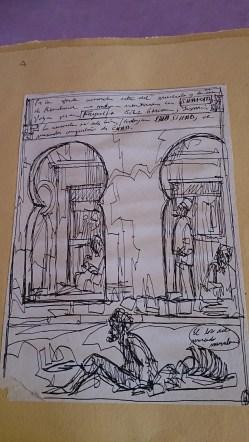 Dibujo de Carlos Mariné, Harar. Foto: eaTropía