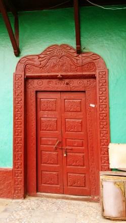 Puerta en una casa de Harar. Foto: eaTropía