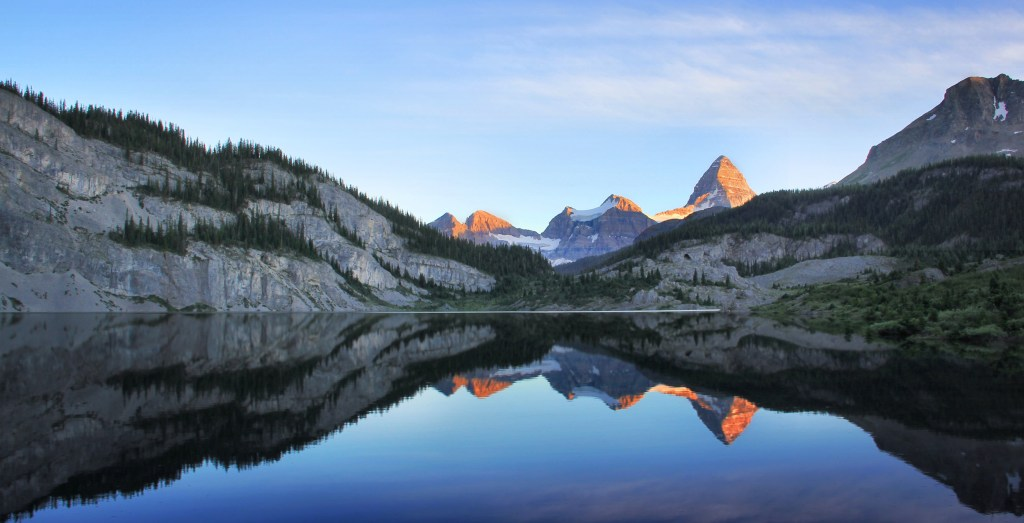 Og Lake mit Mount Assiniboine