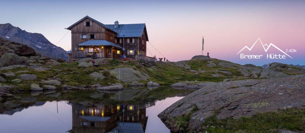 Bremer Huette, Vegane Verpflegung in den Bergen