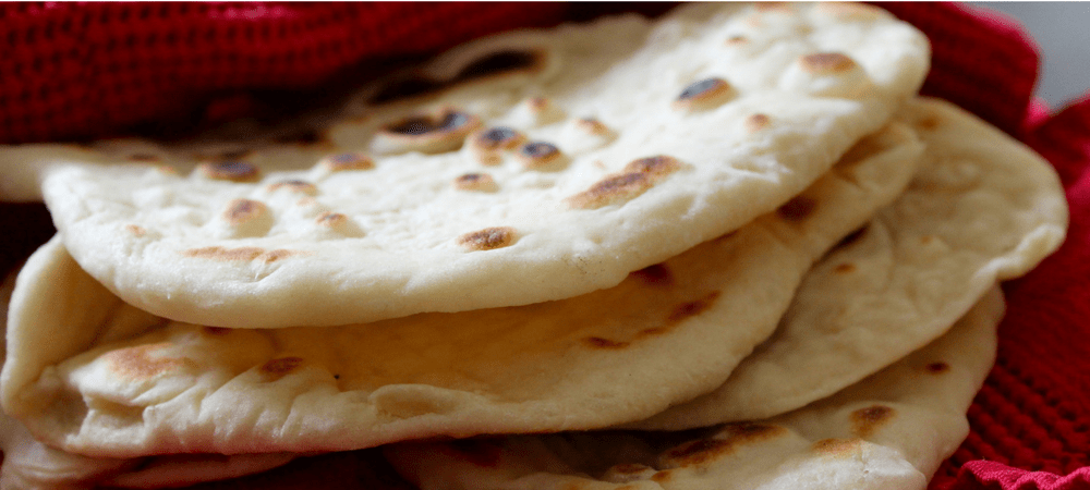 The easiest naan bread (recipe)