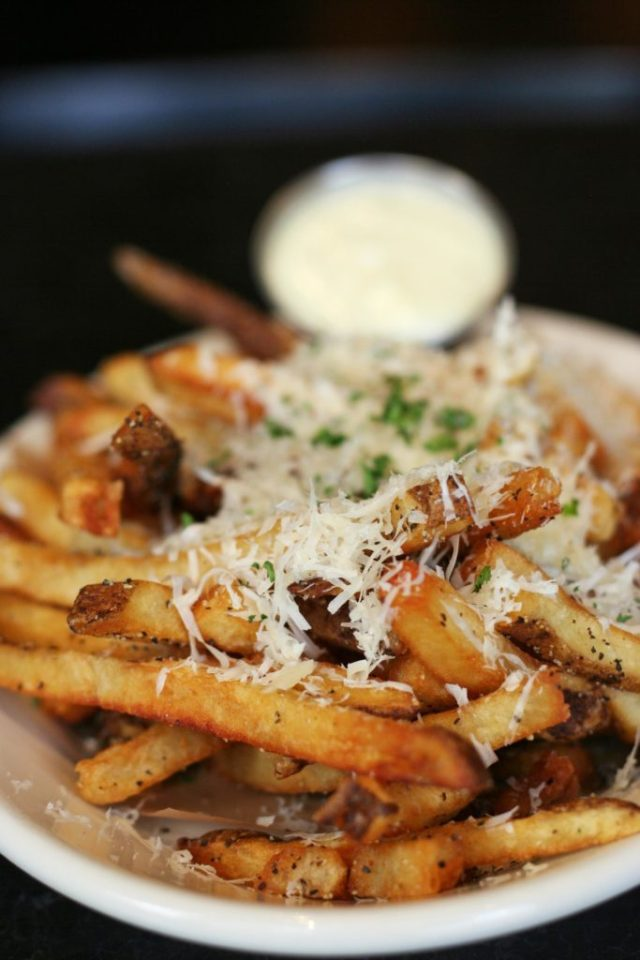 Truffle fries from DMK Burger Bar. Photo credit: Lindsey Becker.