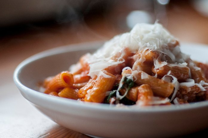 Rigatoni from Tavolata. Photo credit: Geoffrey Smith