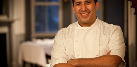 Chef Christopher Lee of The Forge in Miami, Fla.