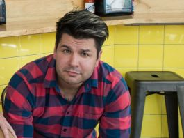 Micah Camden, owner of Portland, Ore.'s Blue Star Donuts, Little Big Burger, and Boxer Ramen