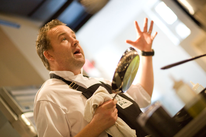 David Robertson of The Dirty Apron in Vancouver, British Columbia, Canada