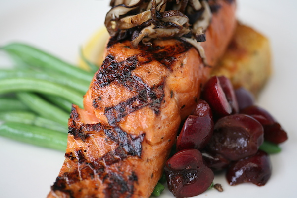 """Rub with Love"" salmon from Etta's. Photo credit: Jerad Knudson."