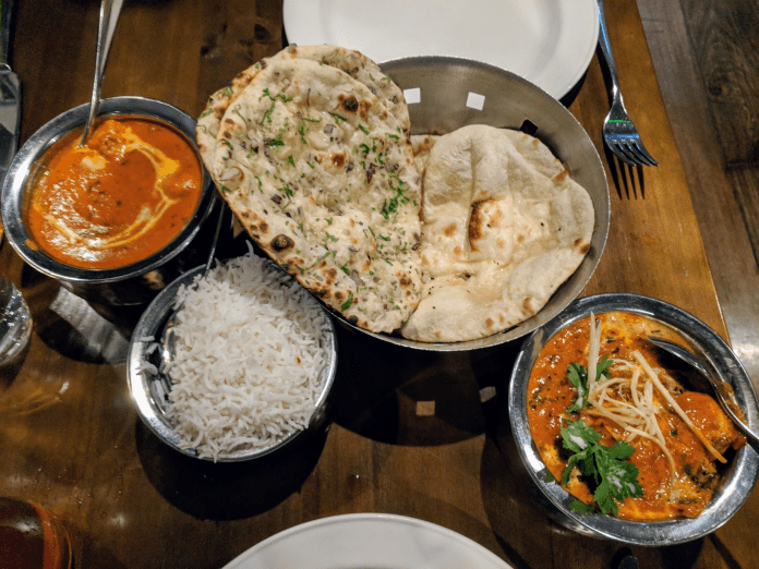 Old Delhi-style chicken tikka makhni and butter chicken from Pickle in Dublin, Ireland