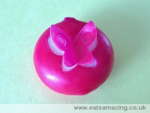 Eats Amazing - Babybel decorated with a butterfly cut from the wax