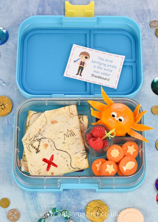 Soggy Treasure Map : soggy, treasure, Pirate, Treasure, Bento, Amazing.
