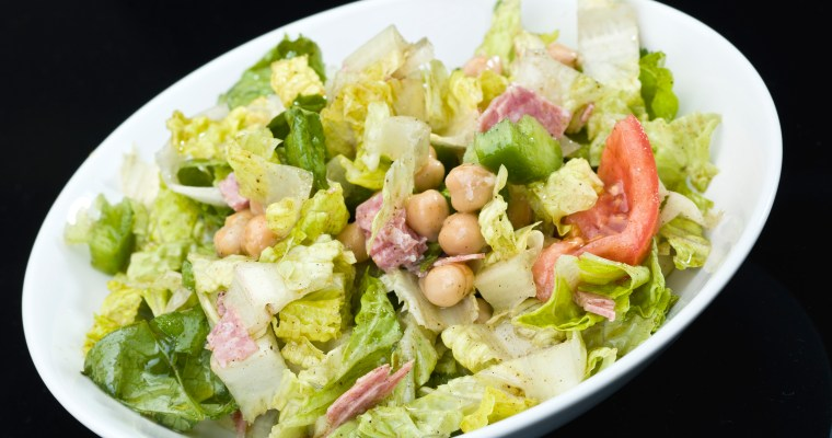 ITALIAN CHOPPED SALAD-LA SCALA STYLE