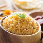 A quick and easy recipe for a basic biryani rice