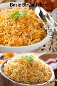 Quick and easy side dish recipe for a basic biryani rice