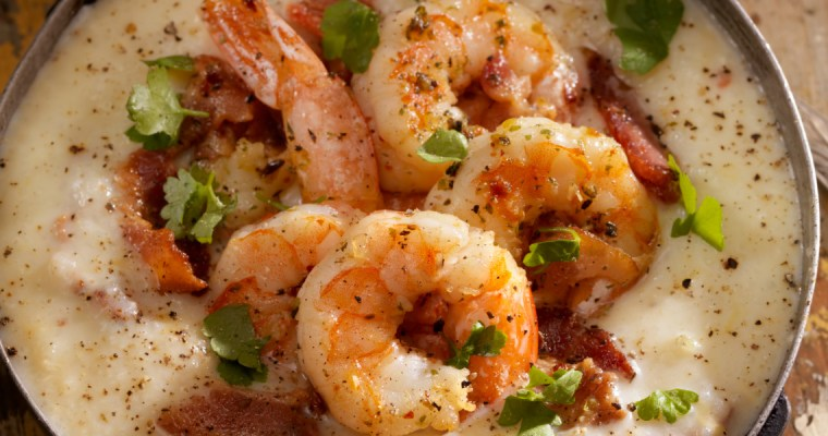 ALABAMA SHRIMP AND GRITS