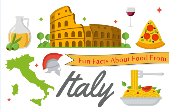 Fun Facts About Food From Italy