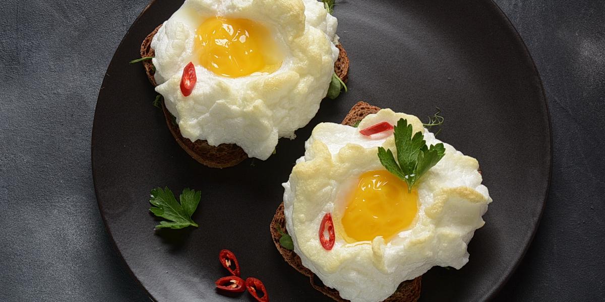 ORSINI EGGS (aka Cloud Eggs)