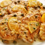 Classic chicken piccata - chicken pan-fried and coated in a lemon, caper, butter sauce. Easy enough for a weeknight meal and impressive enough for a dinner party.