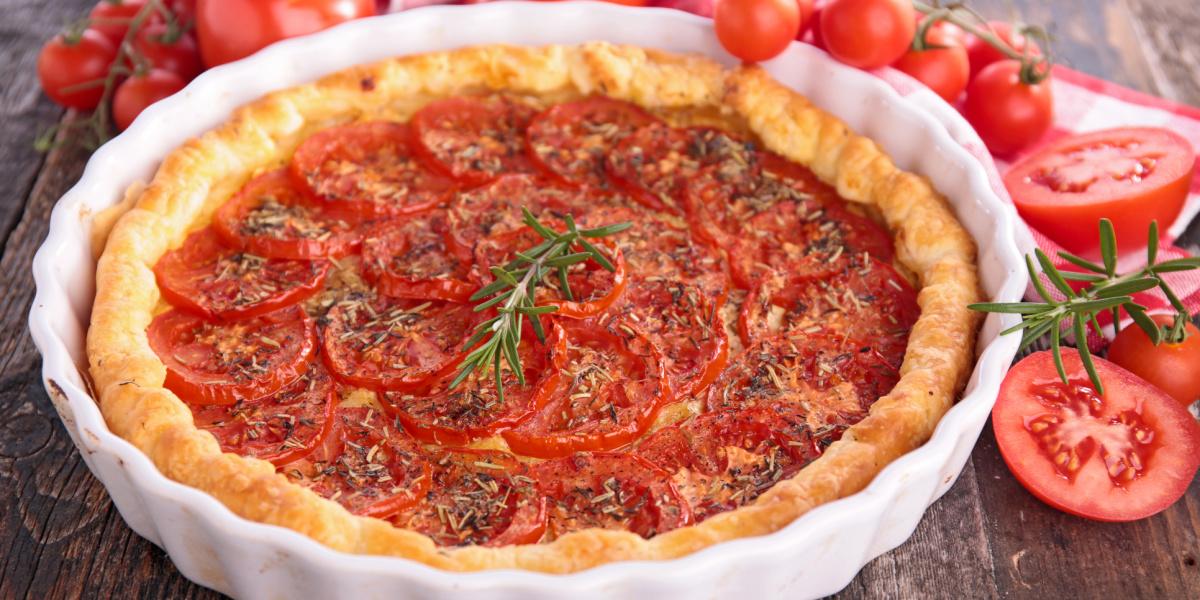 EASY SOUTHERN TOMATO TART