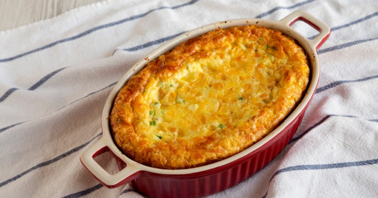 SPICY SOUTHERN CORN CASSEROLE