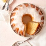 A Harvey Wallbanger Cake - a vintage cake recipe with Galliano, vodka, and orange.