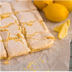 Millie's Old Fashioned Lemon Bars - an old family recipe for the sweet and tangy lemon bar dessert.