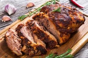 Cuban mojo pork roast