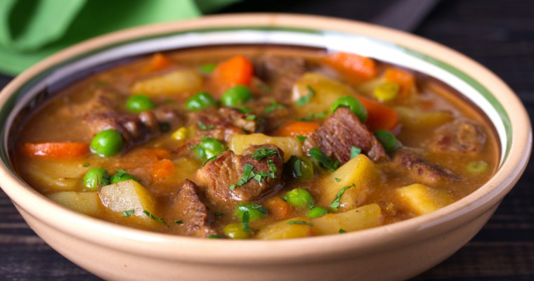 SAVORY IRISH BEEF STEW
