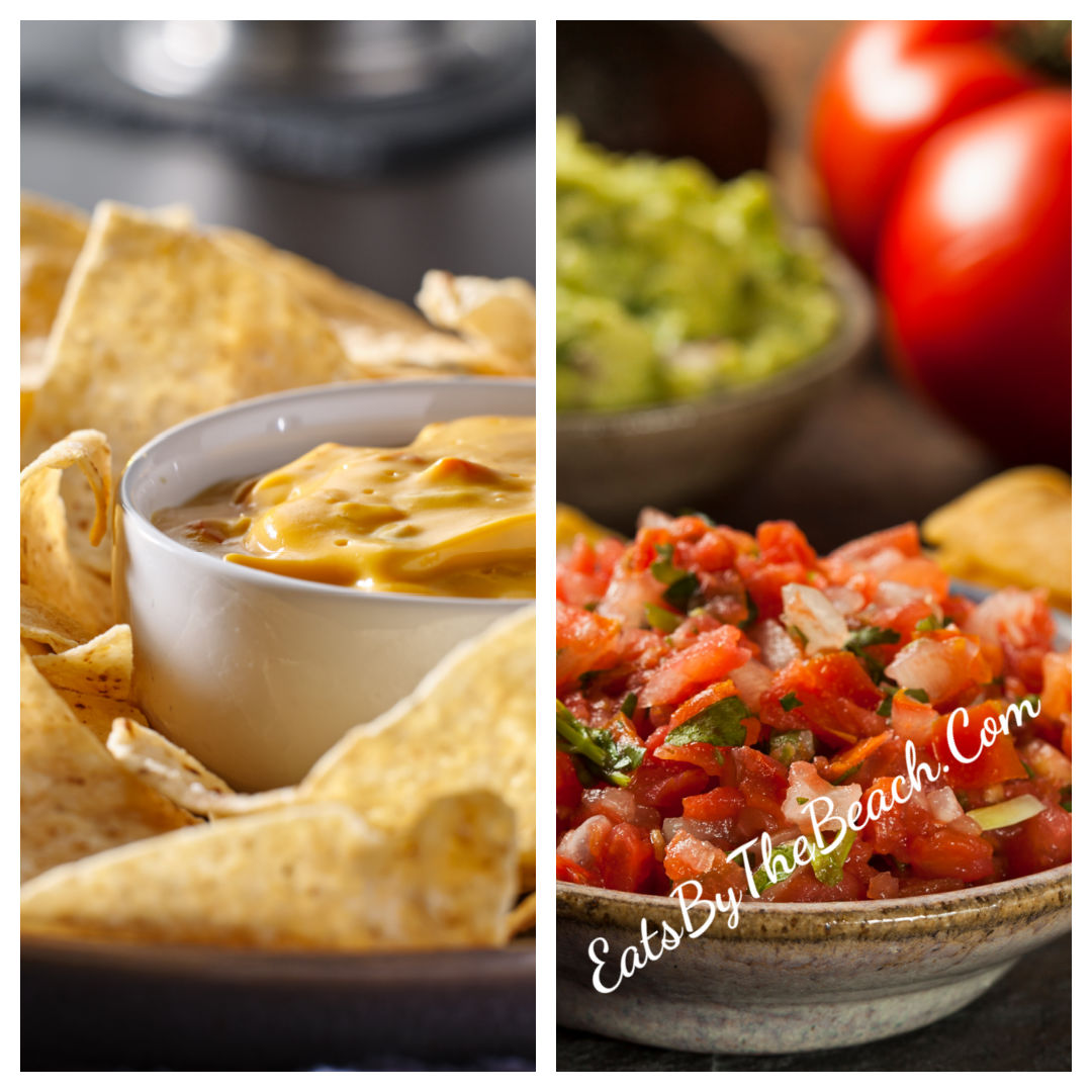 CINCO DE MAYO CHIPS AND DIPS