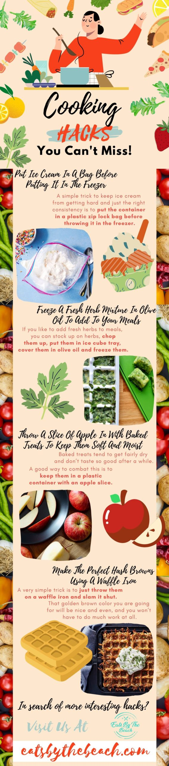 Cooking hacks you can't miss