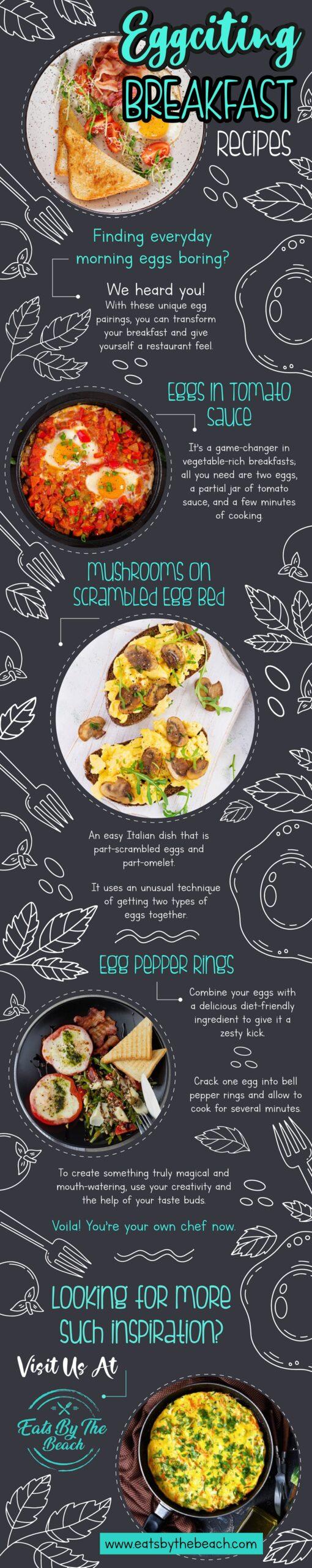 Eggciting breakfast recipes