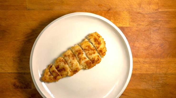Tonkatsu fish cooked