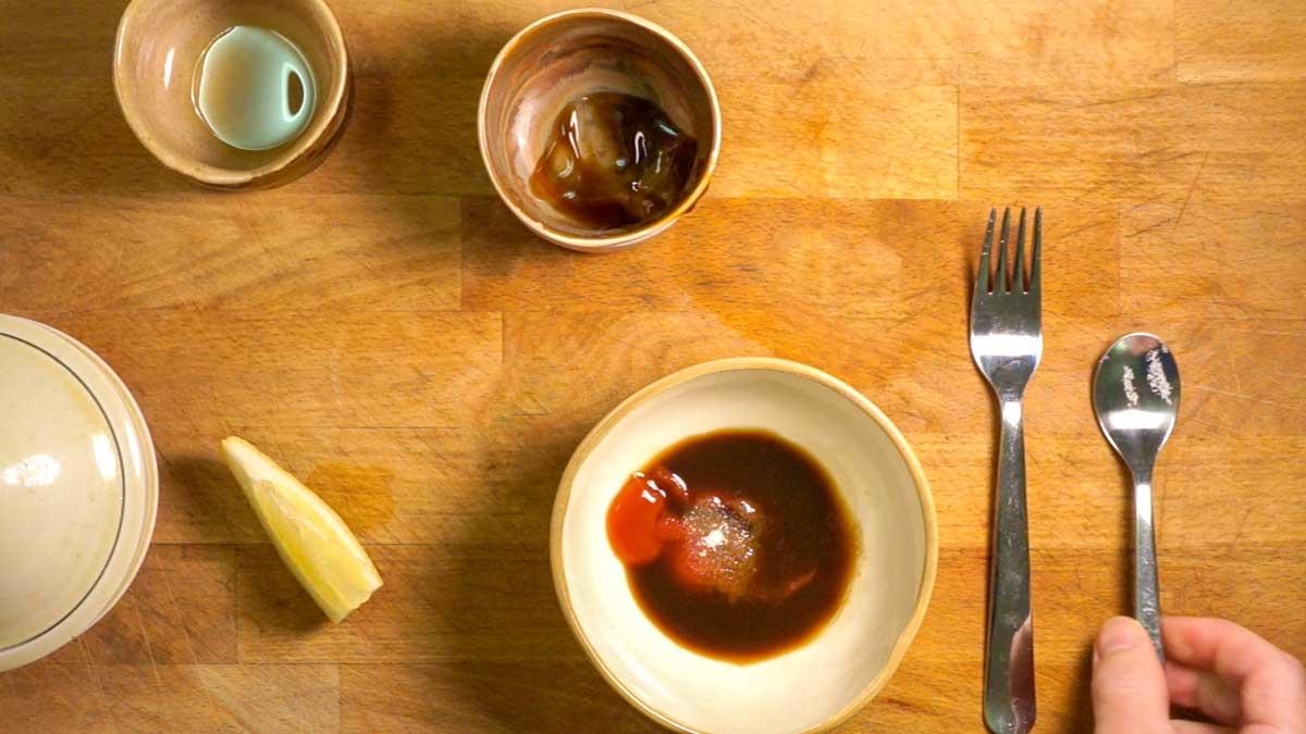 Fish Tonkatsu, Green Salad and Rice Dinner – Eats Daily