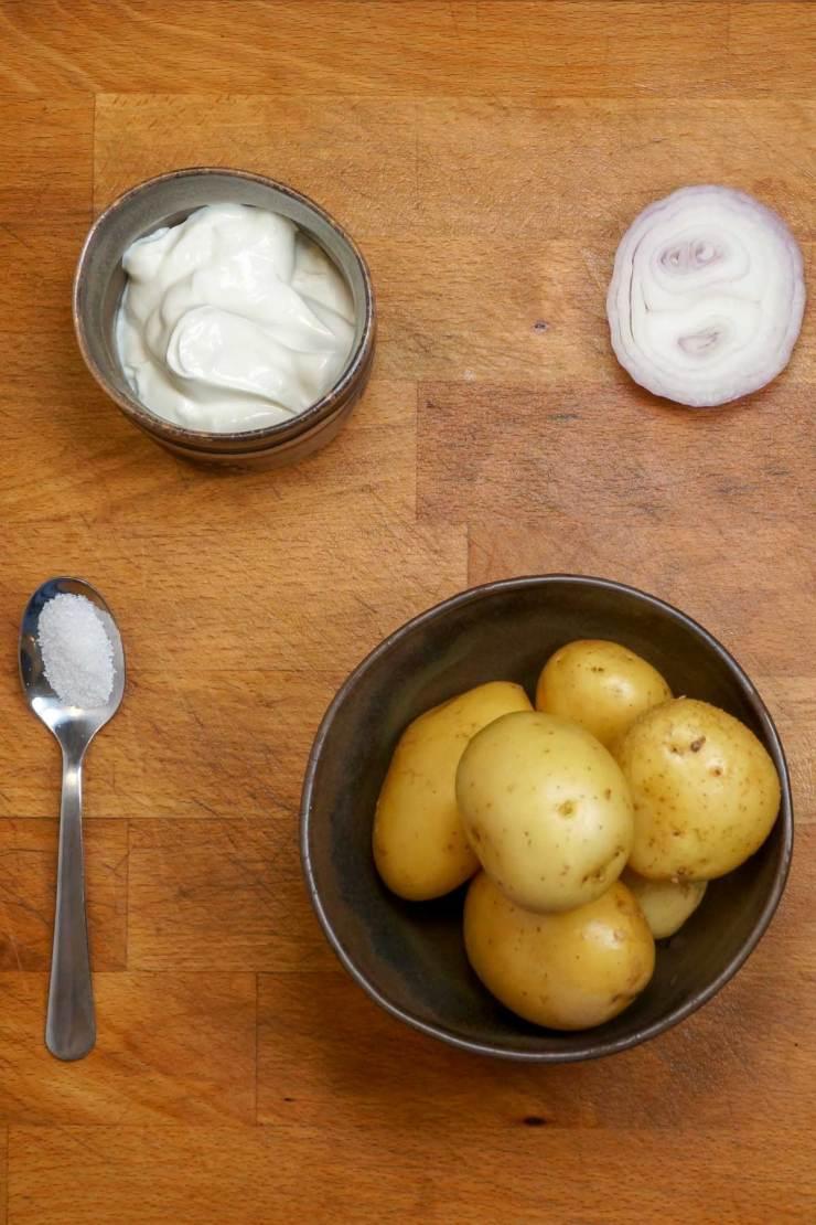 Garlic Onion Mashed Potatoes