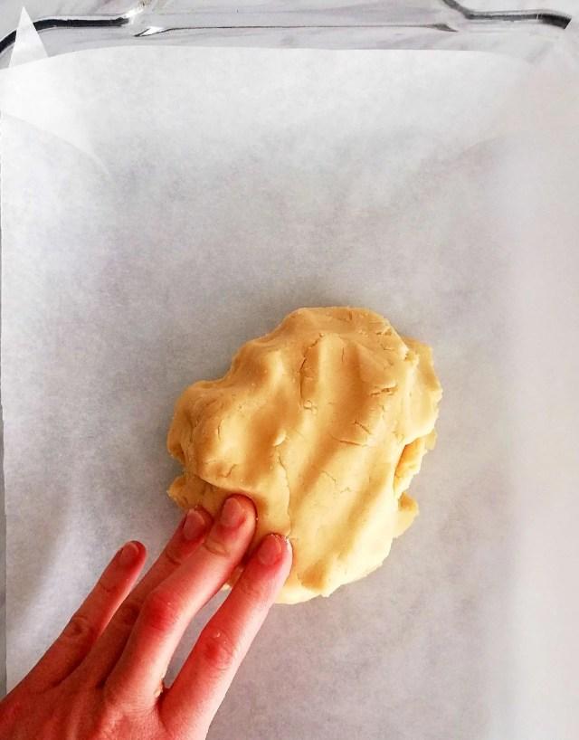 apricot jam bars press into baking pan