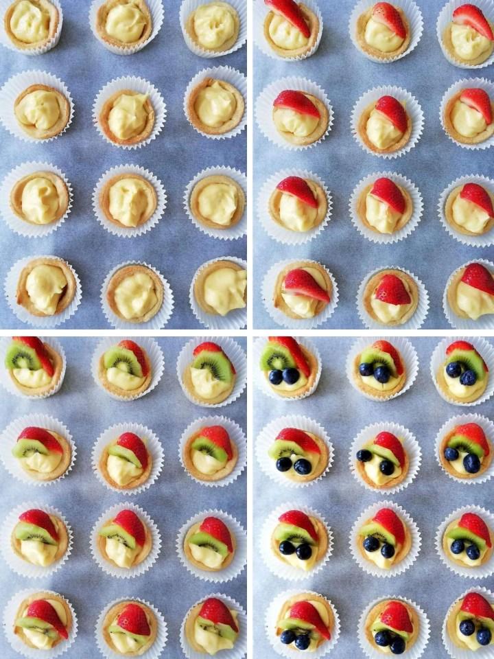 fruit tart assembled
