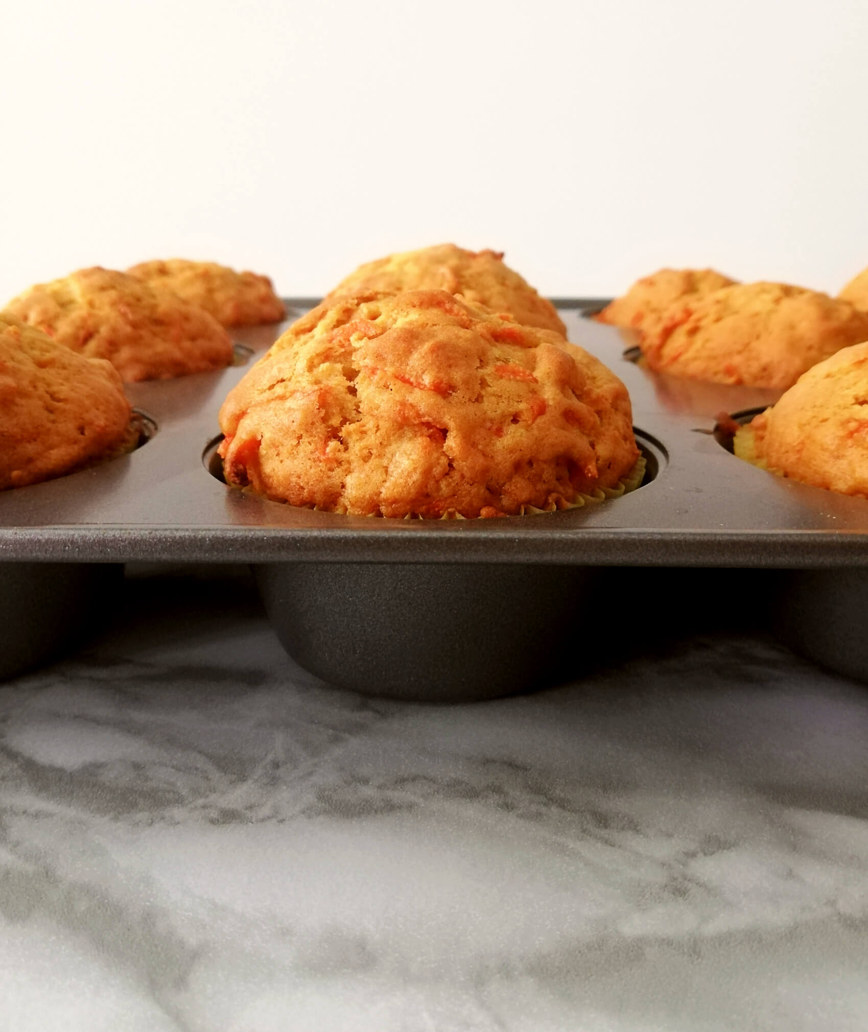 Quick and Easy Carrot Muffins