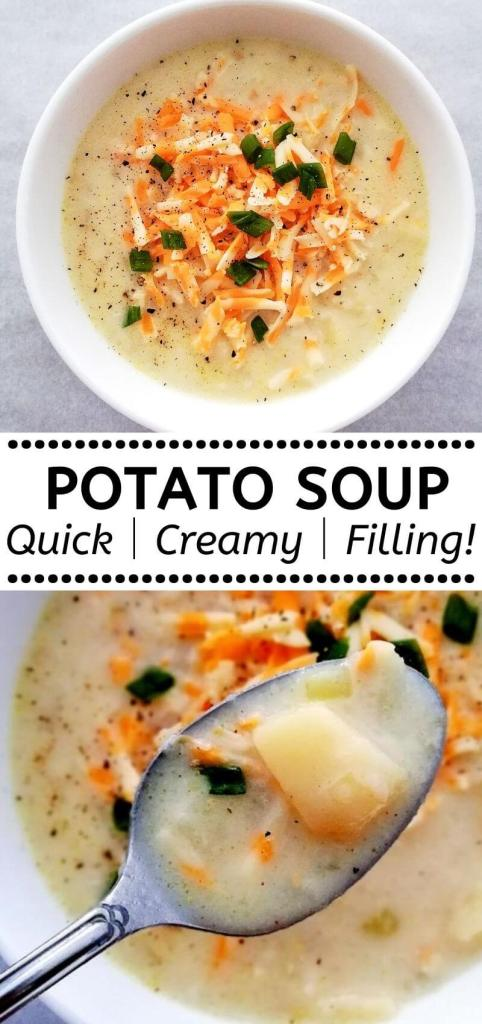 how to make creamy potato soup