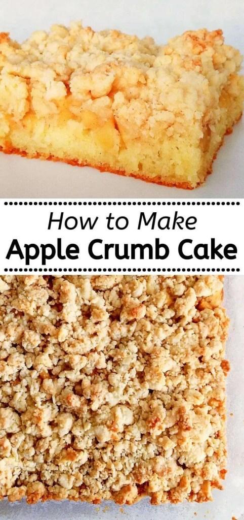 how to make apple crumb cake (1)