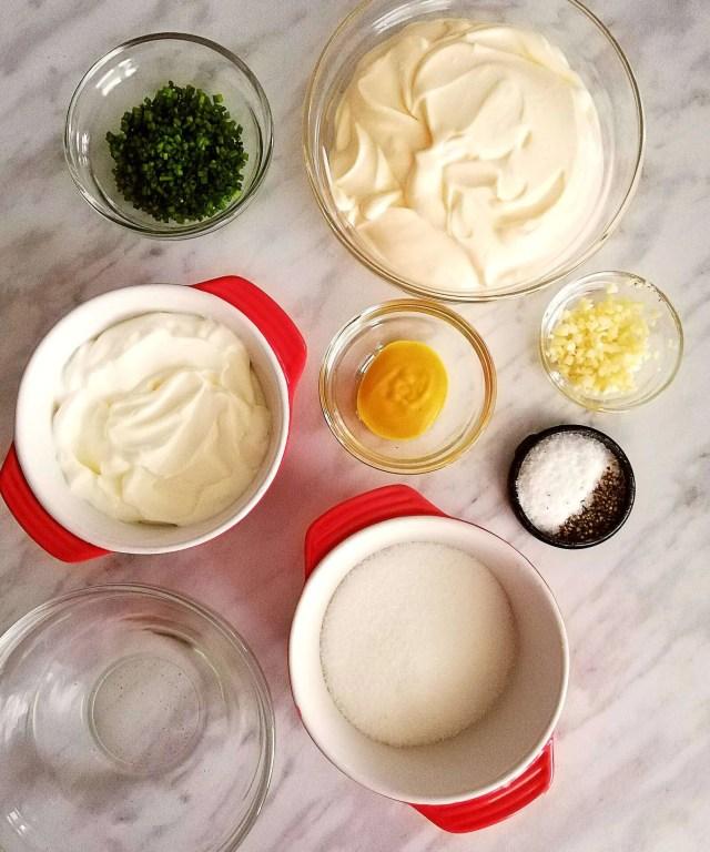 macaroni salad dressing ingredients