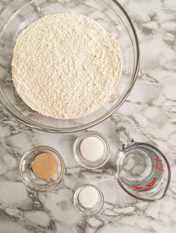 homemade bagels ingredients