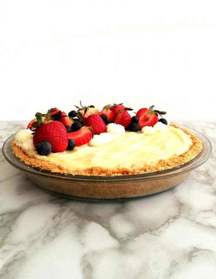 no bake fruit tart assembled side view (1)