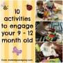 Activities For Your 9 12 Month Old Eat Sleep And Play