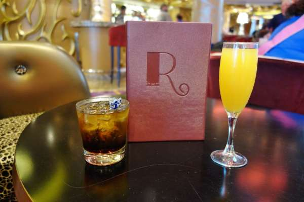 R Bar Drinks Enchantment of the Seas REview